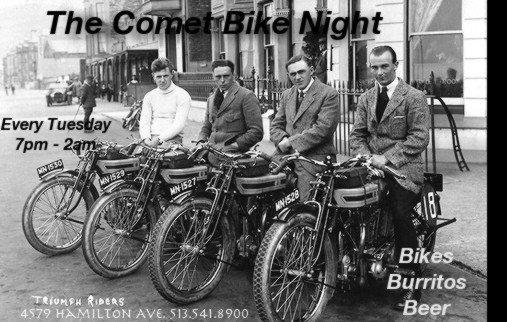 Comet Bike Night
